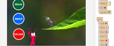 Game Semut dengan Greenfoot