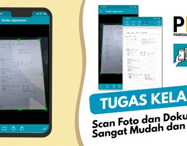 Scan Foto dan Dokumen Sangat Mudah dan Cepat menggunakan NoteBlock