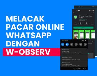 Melacak Pacar Sedang Online WhatsApp Kapan Saja Menggunakan W-Observ Last Seen Tracker copy