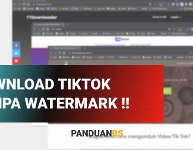 Unduh Video Tiktok tanpa watermark