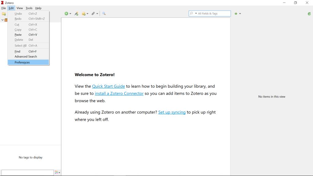 Menambahkan Bibliografi google Dokumen dengan aplikasi Zetero