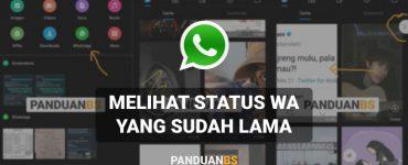 Cara Melihat Status WA yang Sudah Dihapus Tanpa Aplikasi