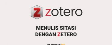 Cara Menggunakan Zotero untuk Menulis Sitasi di Google Docs